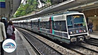 Matériel roulant du RER B à Paris Cité-Universitaire - MI84/MI79 Sncf/Ratp