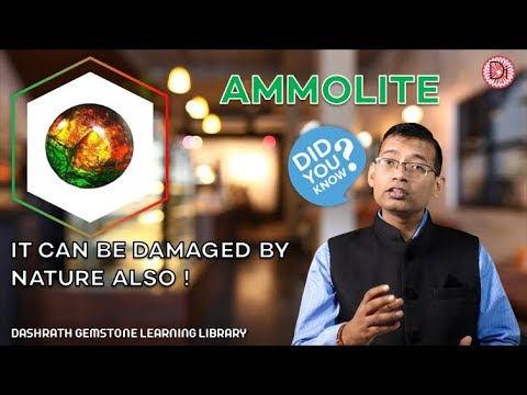Natural Ammolite Gemstone - Dashrath Gemstone Learning Library