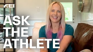 Ashlee Bond answers YOUR questions! #AskTheAthlete