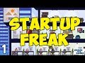 BUILD YOUR BILLION DOLLAR STARTUP #1 - Startup Freak Gameplay