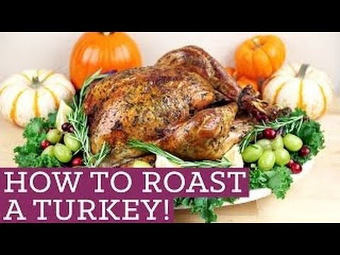Vlog EP:5 - How to Clean and Cook a Juicy Turkey for the Holidays for (Beginners)