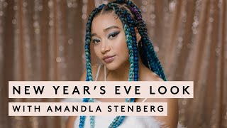NEW YEAR'S EVE MAKEUP LOOK WITH AMANDLA STENBERG | FENTY BEAUTY