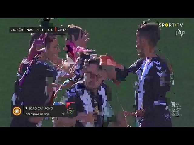 Goal | Golo Camacho: CD Nacional (1)-1 Gil Vicente (Liga 20/21 #7)