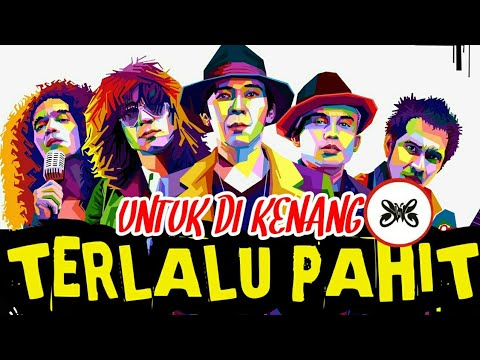 Slank - Terlalu Pahit (Lirik & Kunci Gitar, Official Music Video New Version)