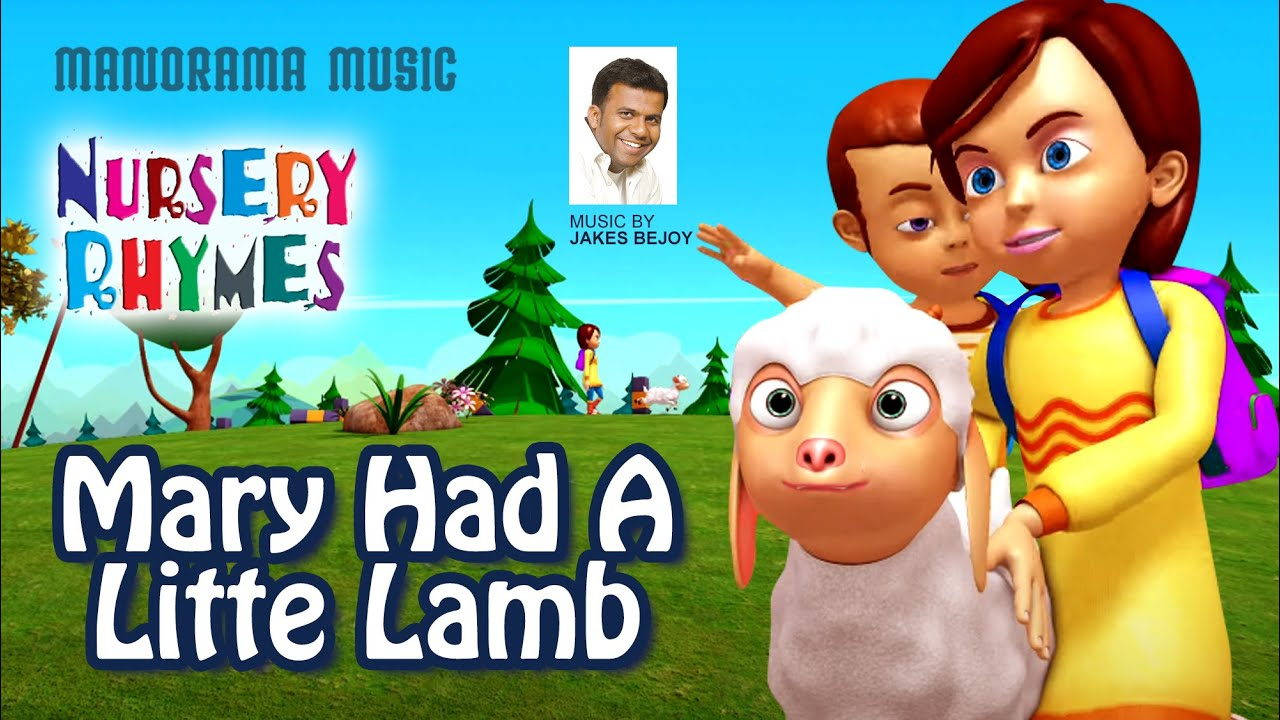 Mary Had A Litte Lamb | English Nursery Rhymes | Jakes Bejoy | Children Rhymes