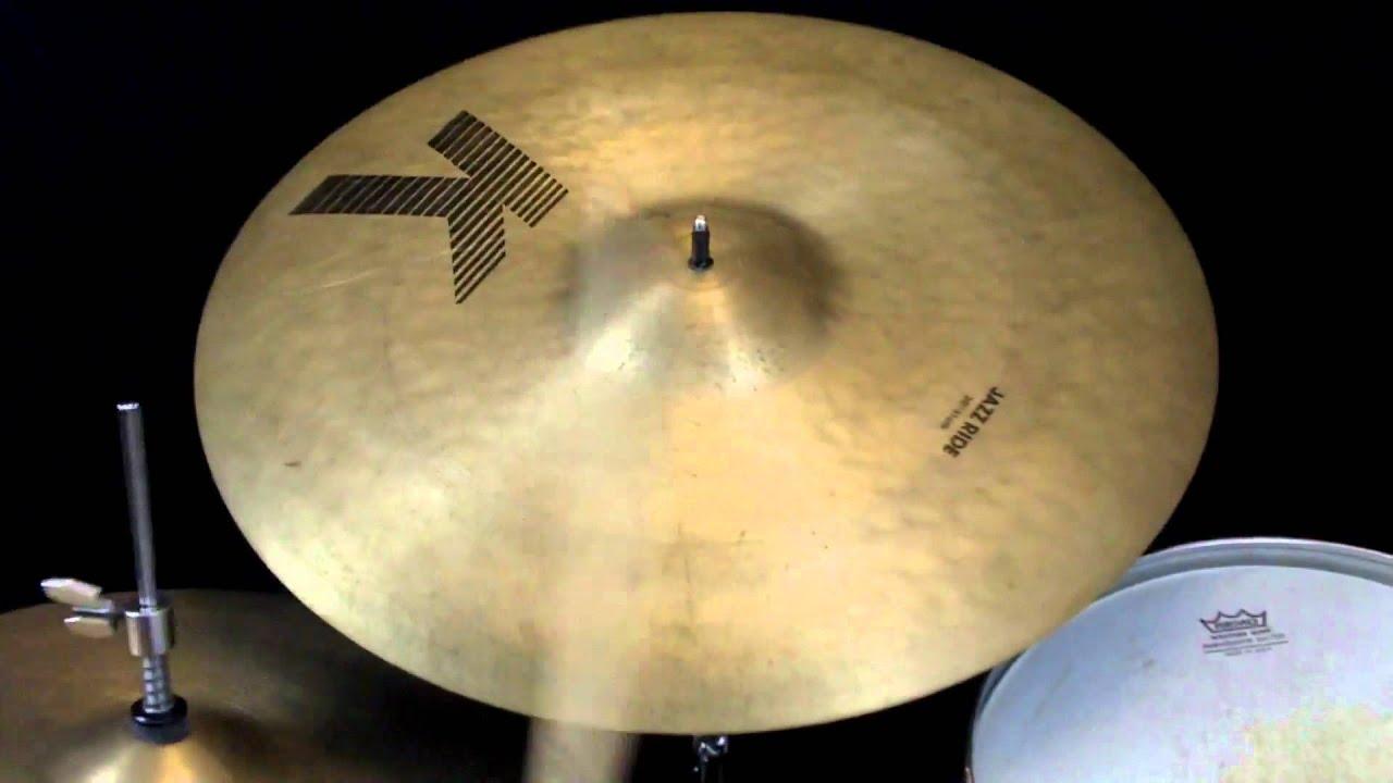 sold vintage 1980s eak k zildjian 20 jazz ride cymbal thin youtube. Black Bedroom Furniture Sets. Home Design Ideas