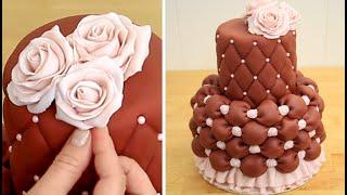 Beautiful Chocolate Wedding Cake Idea   How To Make by Cakes StepbyStep