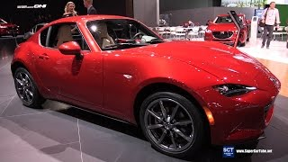 2017 Mazda MX-5 RF Grand Touring - Exterior and Interior Walkaround - 2016 LA Auto Show