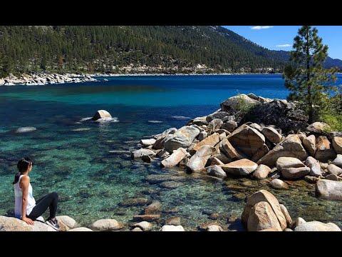 NV Vlog: Lake Tahoe Monkey Rock, Hidden Beach, Sand Harbor!