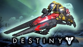 Destiny Trailer: New Gameplay! Red Sparrow of Death! Funny Moments (GamesStop Commercial)