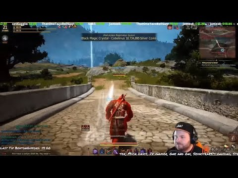 Trying Black Desert Online for the FIRST TIME | Multiplayer First Impressions | Twitch Stream MMORPG