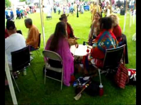 17TH ANNUAL ABENAKI HERITAGE CELEBRATION  LADIES DRUM  SPIRIT OF THE WIND