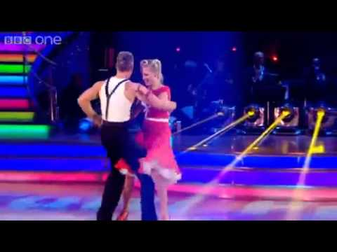 Denise Van Outen & James Jive to 'Tutti Frutti'- Strictly Come Dancing 2012