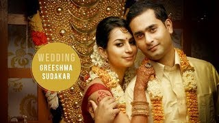 Wedding Highlights Video of Greeshma & Sudakar at Kerala