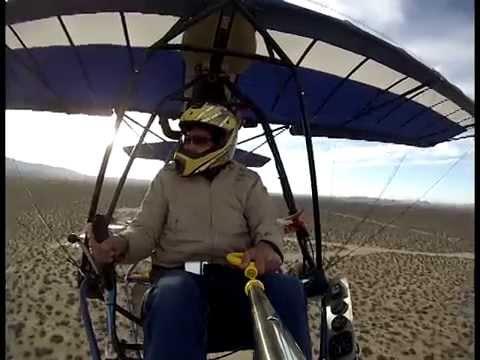 Ultralight flight at Brian ranch Carlos Bravo