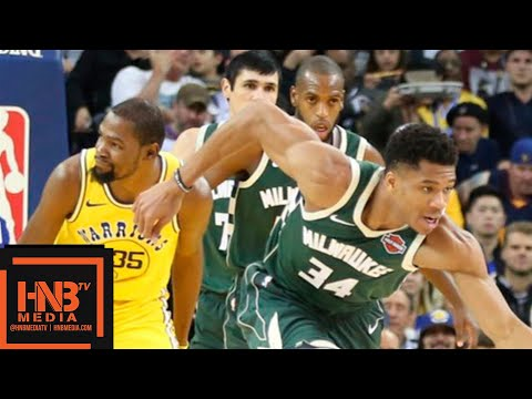 Golden State Warriors vs Milwaukee Bucks Full Game Highlights | 11.08.2018, NBA Season