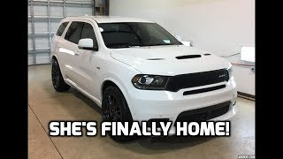 The Durango SRT is back! Ceramic coated, Protection film applied, Tint, and more!