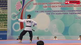Lê Hiếu Nghĩa - Taekwondo Việt Nam | Chung kết giải Taekwondo châu Á 2018