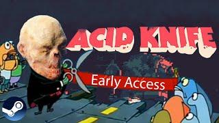 Acid Knife Demo Первый взгляд Прыщи