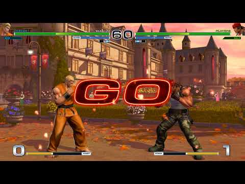 KOFXIV: Ryo's Shin • Tenchi Haoh Ken vs Ralf's Galactica Phantom