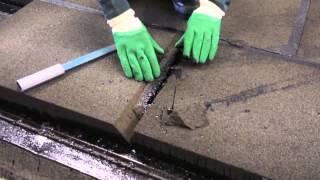 Монтаж пеностекла - исправление швов(, 2015-06-06T00:25:57.000Z)