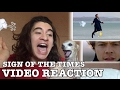 Harry Styles - Sign of the Times Video REACTION • Gera Husseim