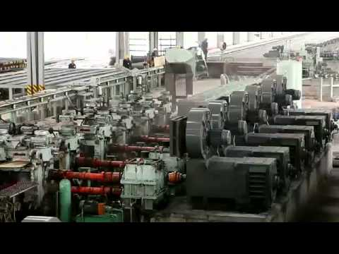 Rolling mill stand - THEP vIET dUC.flv