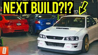 Turning a $800 junk Subaru into a +400 WHP Widebody STI Powered GC8 - Bucky Lasek