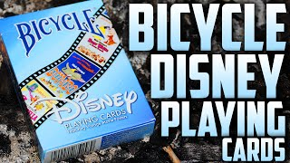 Deck Review - Bicycle Disney Playing Cards [HD]