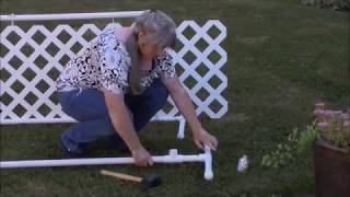 DIY Dog Show Ring Gate