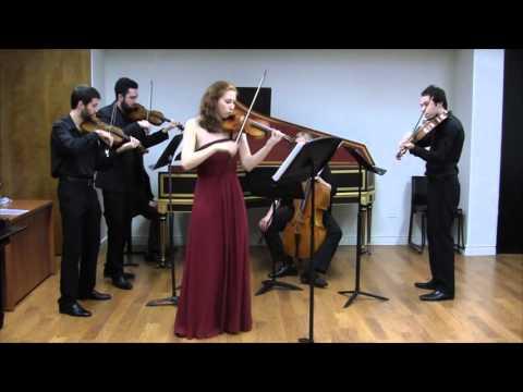 Vivaldi Concerto RV 222, movement 1 Allegro