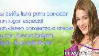 Martina Stoessel - Tu Resplandor - The Glow Spanish Version - Letra