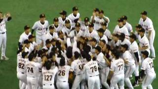 2009 NPB Japan Baseball Central League Champion