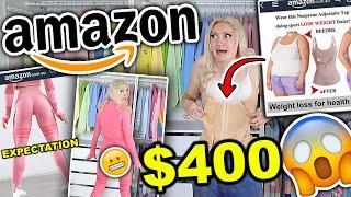 AMAZON HAUL   I SPENT $400 ON AMAZON CLOTHING!! SAME DAY SHIPPING CLOTHING TRY ON HAUL 2021