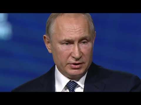 От ветряков гибнут птицы и вылезают из земли черви - Путин