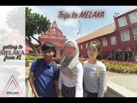 Cara Pergi ke Malaka dari Kuala Lumpur #FVLOG1