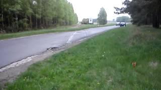 Linia kolejowa -zlikwidowana-LESZNO-KRZELÓW [ostatnie szyny] 03-05-2012r..MP4