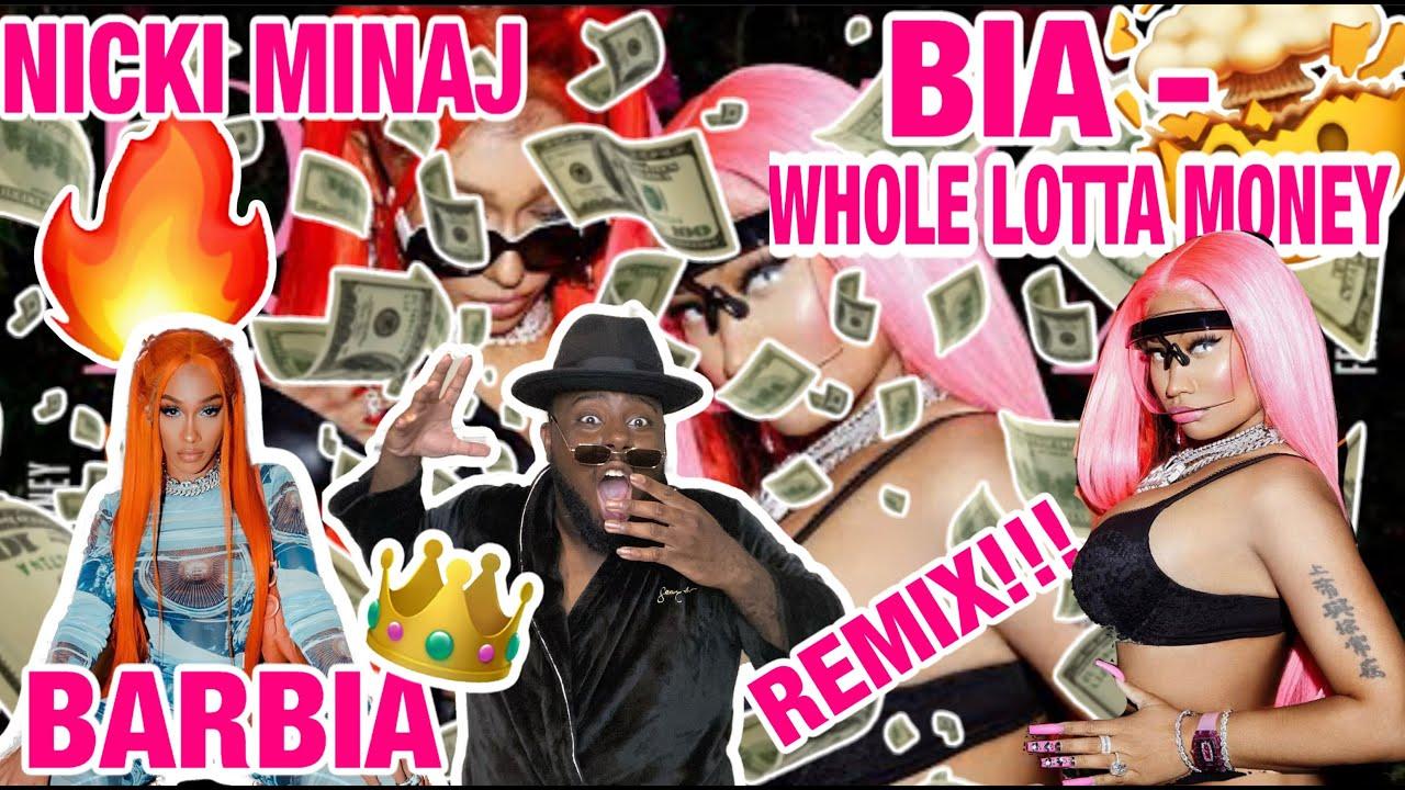 Nicki Minaj Blesses BIA on 'Whole Lotta Money' Remix