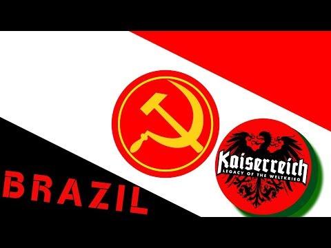 Hearts of Iron IV Kaiserreich - Brazil [7] Mountain to jungle