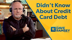 I Didn't Know My Husband Was Using A Credit Card!