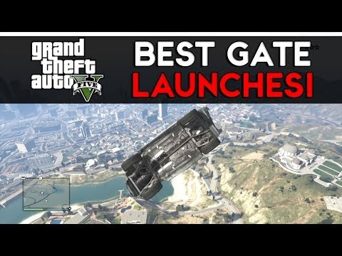 GTA 5 Online Funny Moments - BEST GATE...