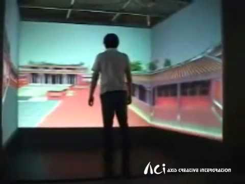 Kun Shan University CAVE Display System