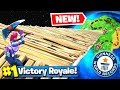 *WORLD RECORD* Longest Domino EFFECT in Fortnite Battle Royale!