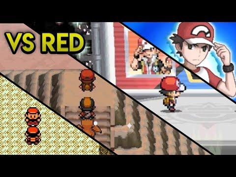 Evolution of Pokemon Trainer Red Battles (2000 - 2017)