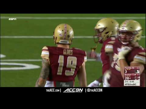 Florida State vs Boston College College Football Condensed Game 2017