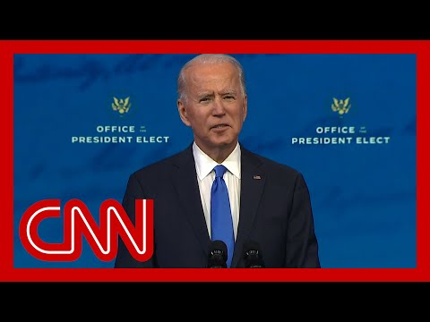 CNN: Watch Joe Biden's full address to the nation after Electoral College reaffirms his victory