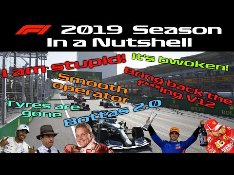 F1 2019 Season In A Nutshell Youtube