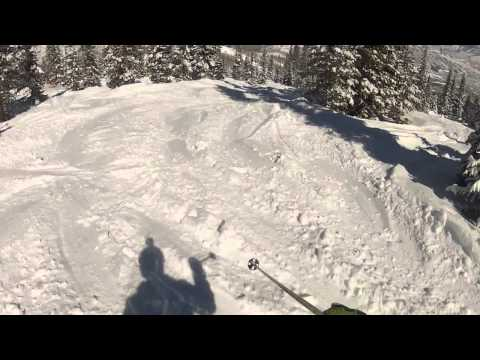 Powder Skiing in Slow Motion at Aspen / Snowmass / Highlands ... by Derek Taylor