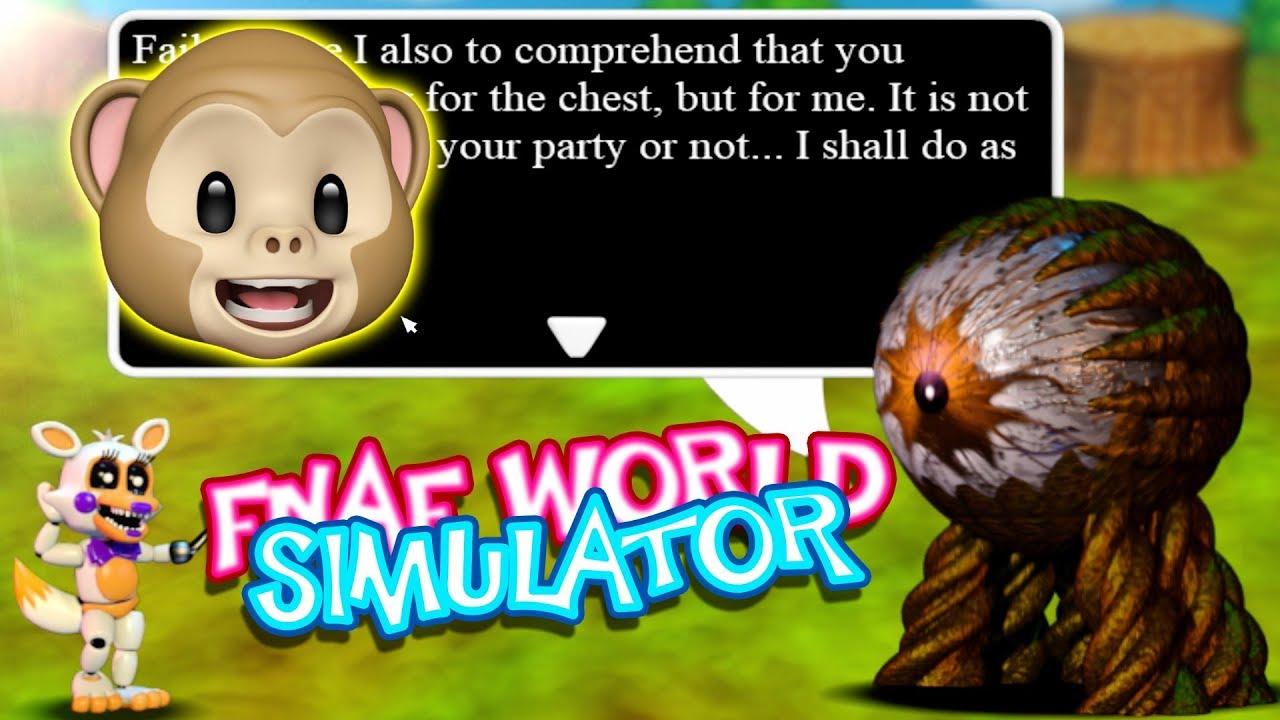 EYESORE JOINED OUR TEAM!! | Fnaf World Simulator