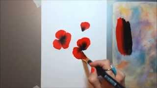 Техника росписи OneStroke МАКИ(Техника росписи One Stroke - чудеснейшая! Рисую МАКИ в этой технике. Подписывайтесь на канал, чтобы не пропустит..., 2015-06-09T11:04:52.000Z)
